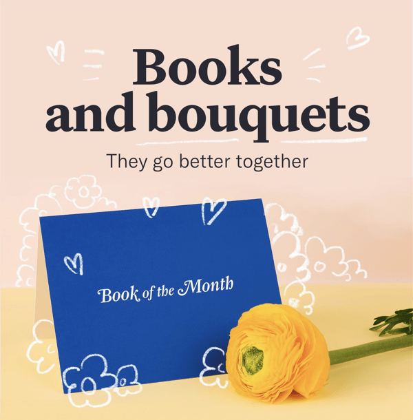 Mother's Day Gift Ideas: Book of the Month Club + $10 Off Gifts Coupon