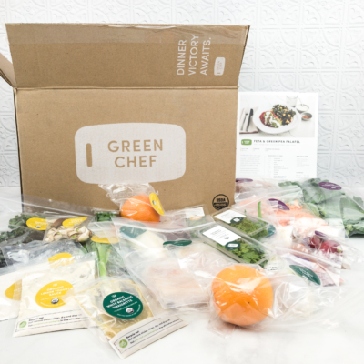 April 2018 Green Chef Omnivore Subscription Box Review & Coupon