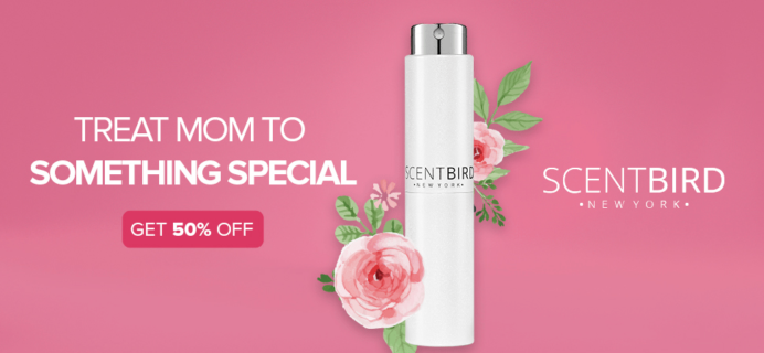 Scentbird Mother's Day Deal: Get 50% Off!