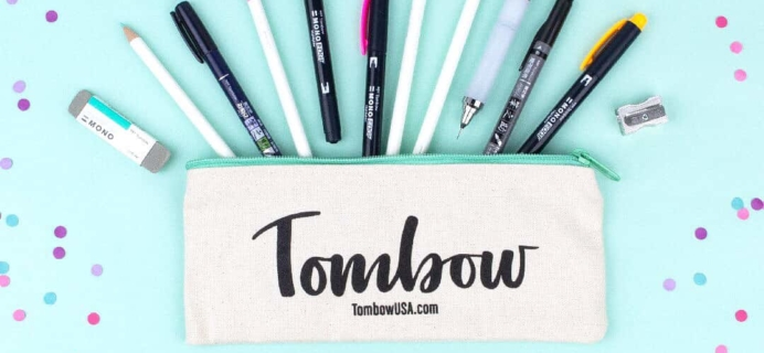 Tombow VIP Club April 2018 Box Available Now + Full Spoilers!