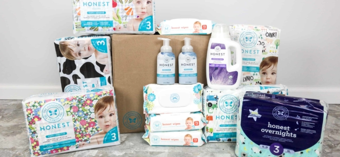 Honest Company Diaper Bundle Review + Coupons –  April 2018