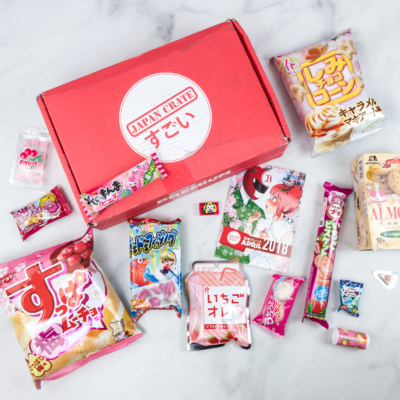 Japan Crate April 2018 Subscription Box Review + Coupon