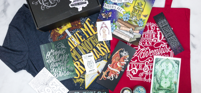 Nerdy Post April 2018 Subscription Box Review + Coupon – FANTASY