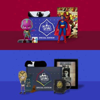 New Geek Gear Special Edition Subscription Boxes Available Now + Coupon!