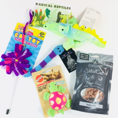 PetGiftBox April 2018 Cat Subscription Box Review + 50% Off Coupon