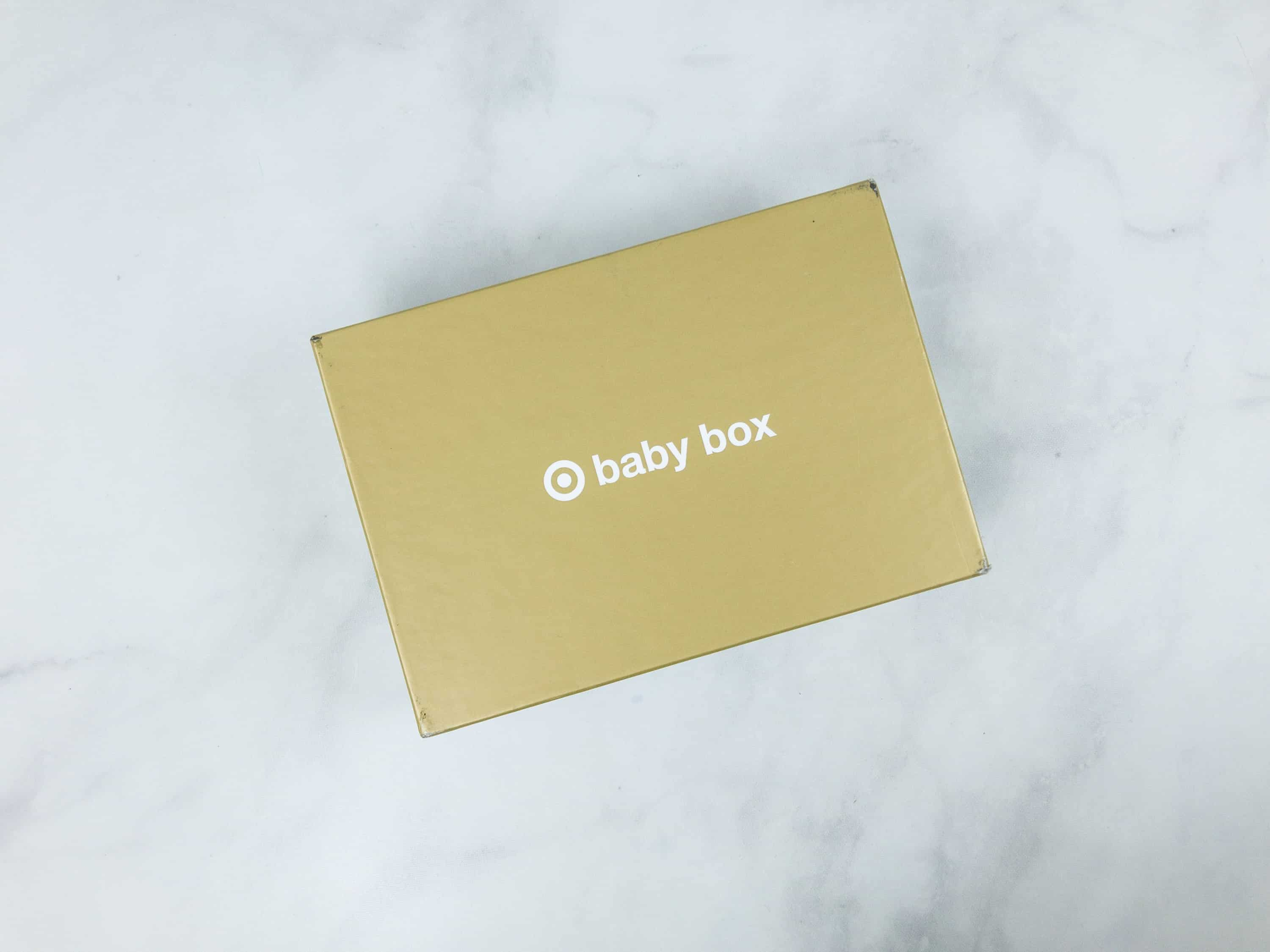 Target Baby Box Review - April 2018 - hello subscription