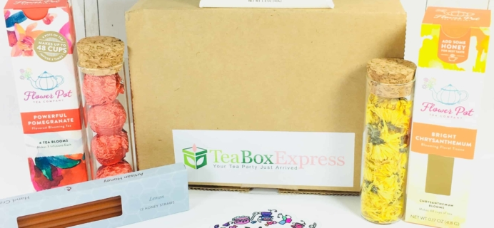 Tea Box Express April 2018 Subscription Review & Coupon