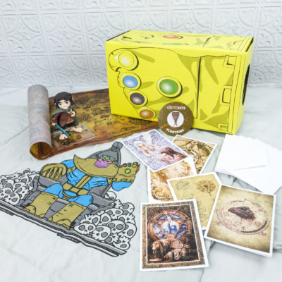 Loot Crate April 2018 Review + Coupons – ARTIFACTS!