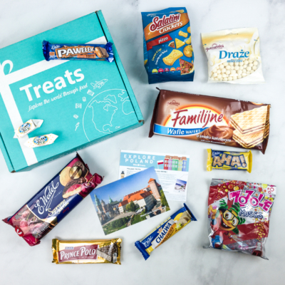 Treats Box April 2018 Review & Coupon – Poland