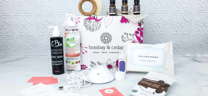 Bombay & Cedar Subscription Box Review + Coupon – April 2018