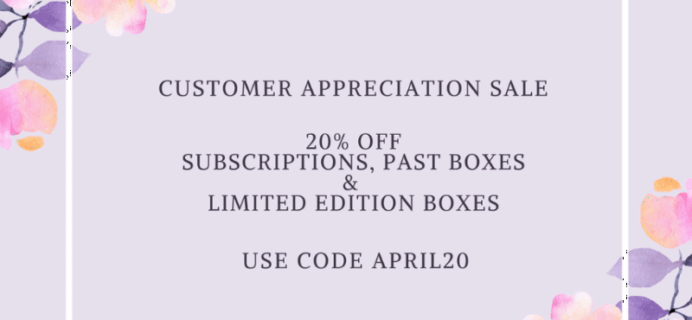 Cocotique Sale: 20% Off All Subscriptions & Past Boxes!