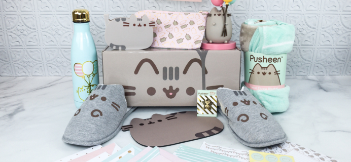 Pusheen Box Spring 2018 Subscription Box Review