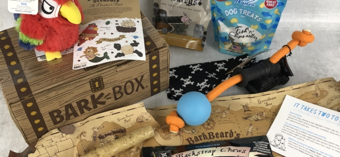 Barkbox April 2018 Subscription Box Review – Super Chewer