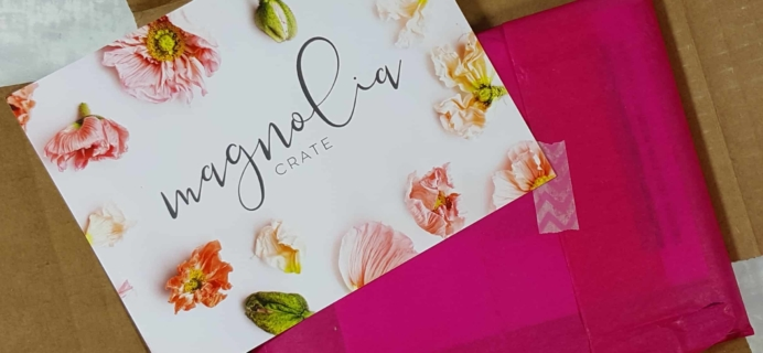 Magnolia Crate Subscription Box Review & Coupon – February 2018
