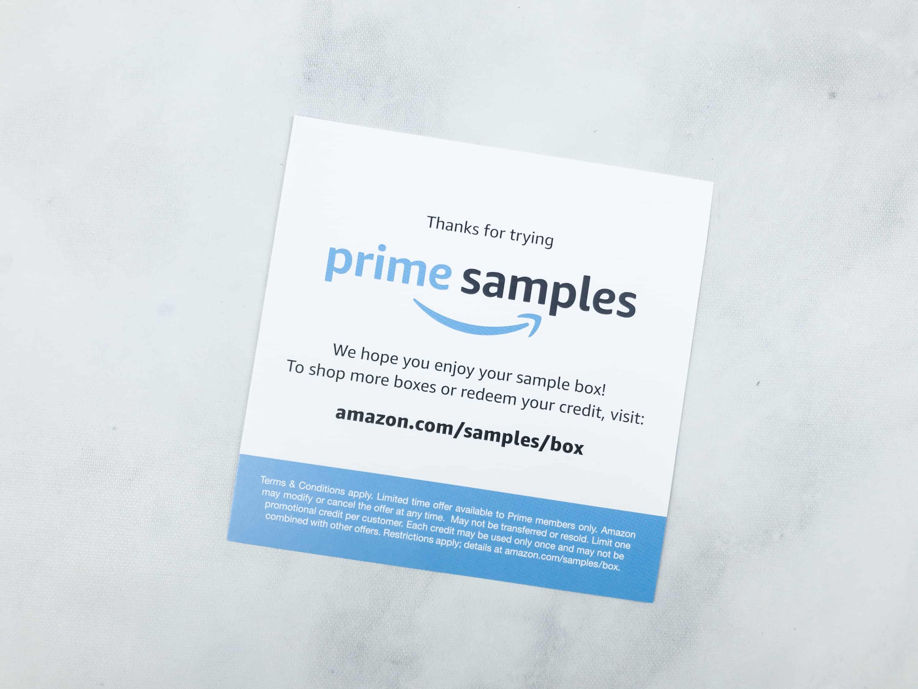 Amazon prime snack sample box review hello subscription and if you dont already you can try amazons subscribe save which i love easiest way in my book to get my household essentials delivered reheart Images