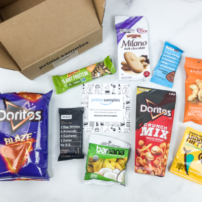 Amazon Prime Snack Sample Box Review