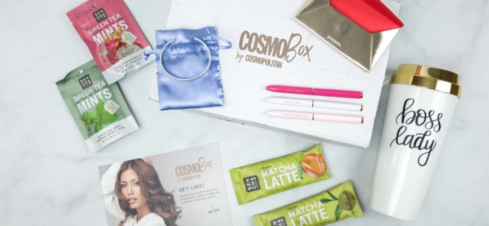 CosmoBox April 2018 Subscription Box Review