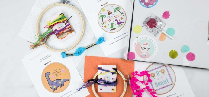 The Geeky Stitching Club May 2018 Subscription Box Review
