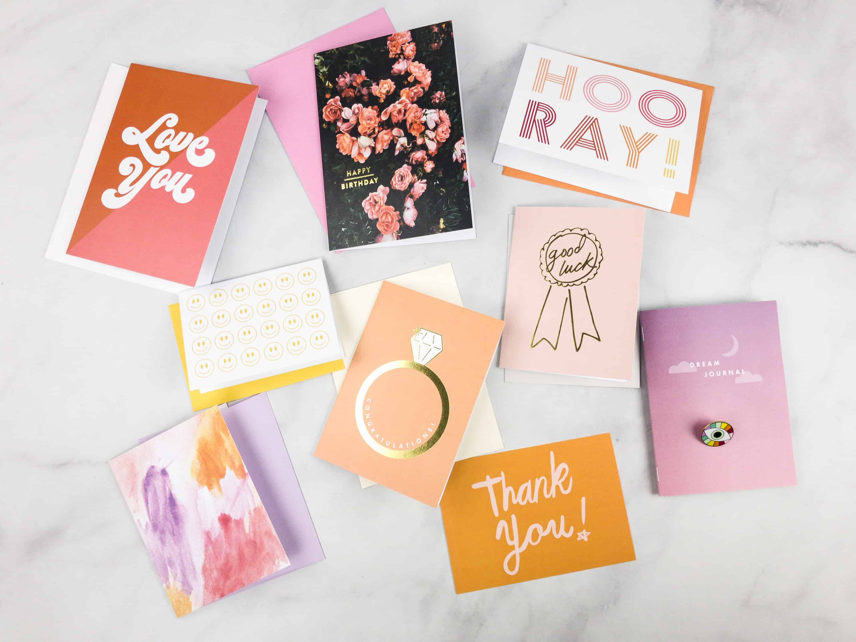 Happy Mail by Oui Fresh March 2018 Subscription Box Review