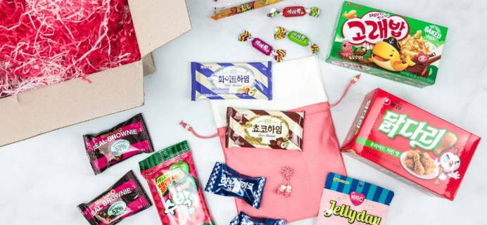 Korean Snack Box May 2018 Subscription Box Review + Coupon