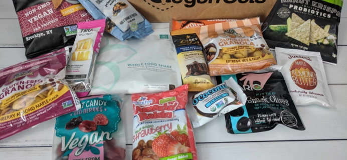 Vegan Cuts Snack Box April 2018 Subscription Box Review