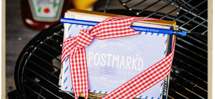 Postmark'd Studio PostBox June 2018 Spoilers + Coupon!