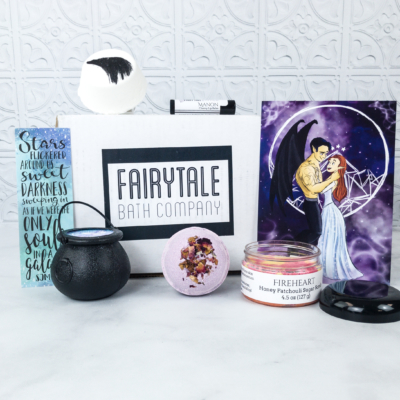 Fairytale Crate April 2018 Subscription Box Review + Coupon – Fae and Fantasy