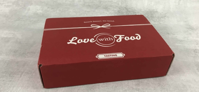 Love With Food July 2018 Tasting Box Review + Coupon!