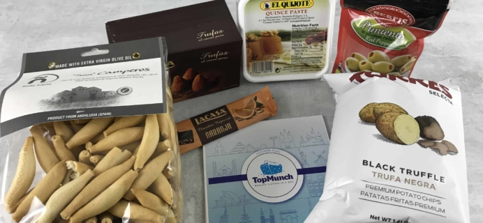 TopMunch April 2018 Subscription Box Review + Coupon