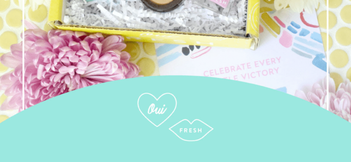Oui Fresh Beauty Box May 2018 Full Spoilers!