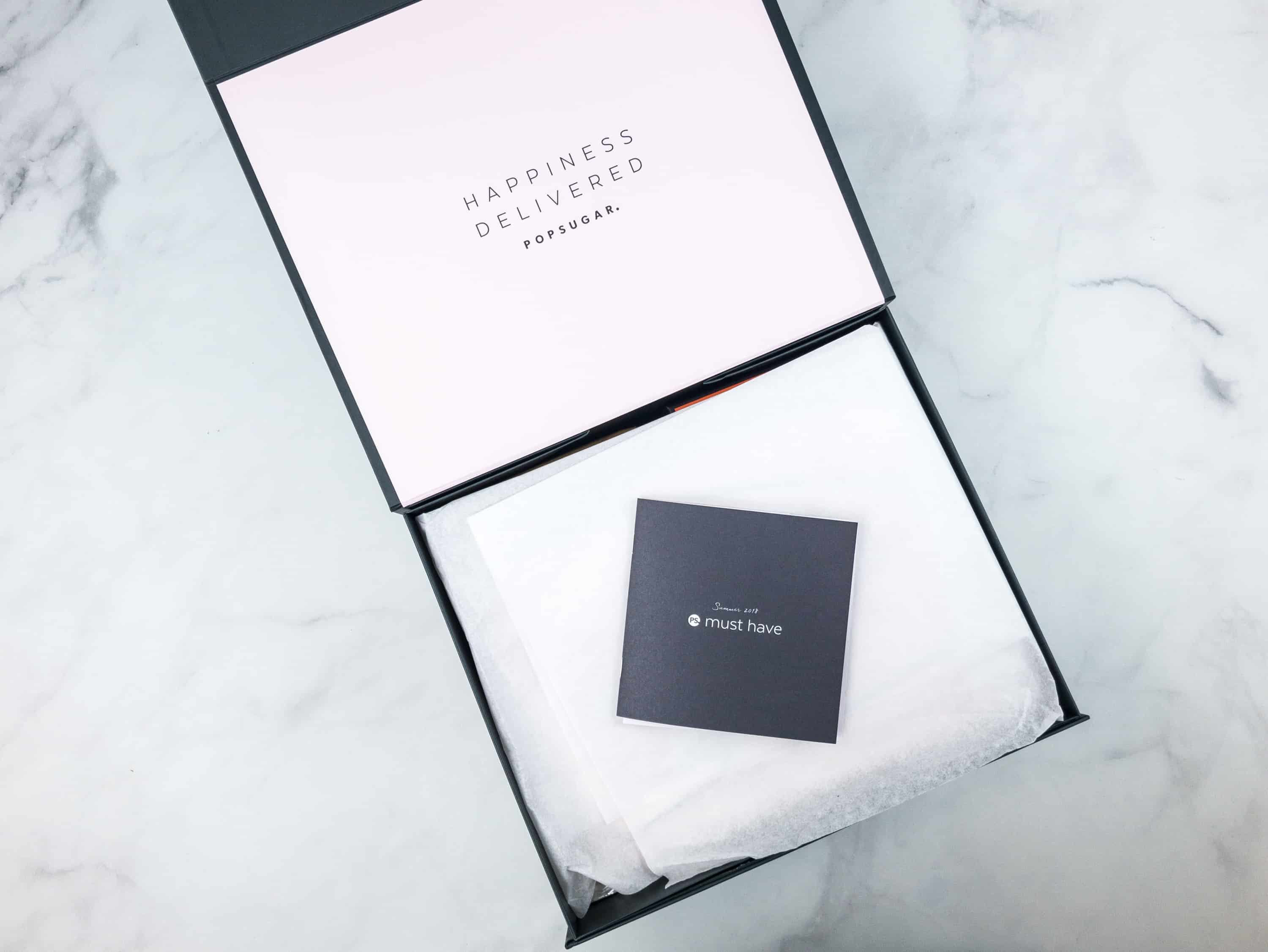Popsugar must have box summer 2018 review coupon hello subscription deal if youd like to purchase this subscription use coupon code musthave5 to save 5 fandeluxe Images