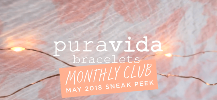 Pura Vida Monthly Bracelets Club May 2018 Full Spoilers!