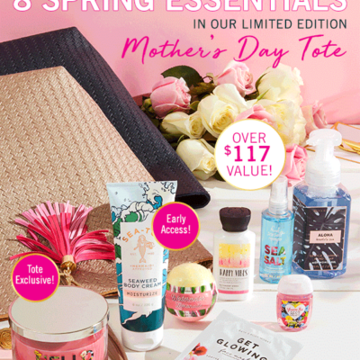 Bath & Body Works Spring 2018 VIP Tote Available Now!