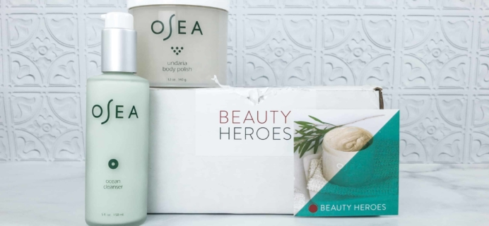 Beauty Heroes May 2018 Subscription Box Review + Coupon