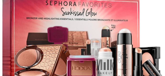 New Sephora Favorites Kits Available Now: Sunkissed Glow Kit!