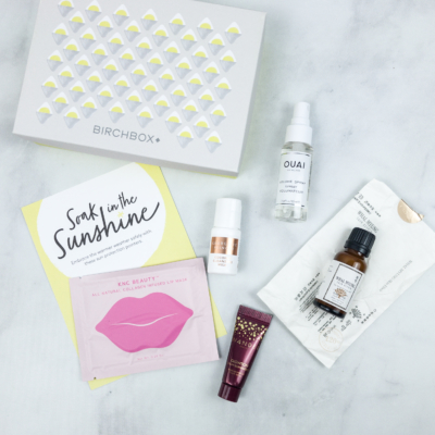 Birchbox May 2018 Curated Box Review + Coupon!
