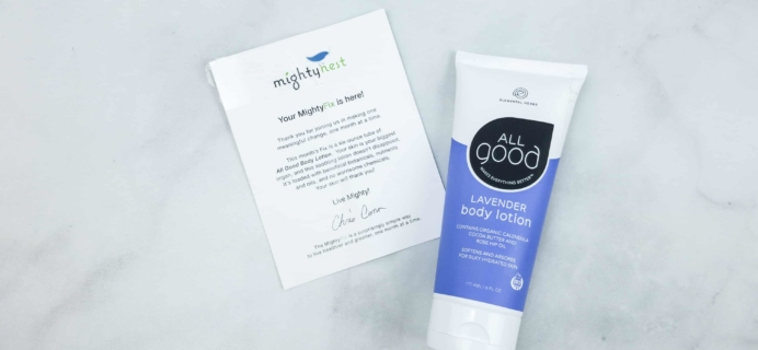 Mighty Body May 2018 Subscription Box Review + Coupon
