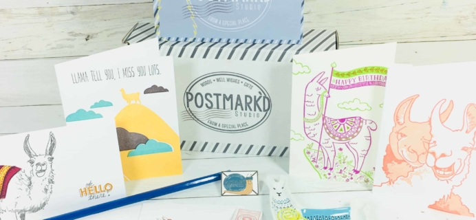 PostBox Subscription Box Review + Coupon – May 2018