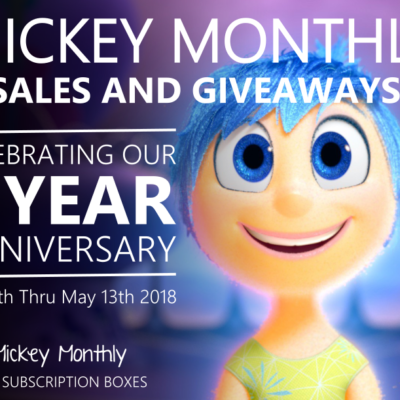 Mickey Monthly 3rd Anniversary Coupon: Get 20% Off Shop!!