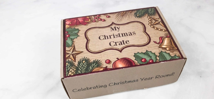My Christmas Crate July 2018 Spoilers + Coupon