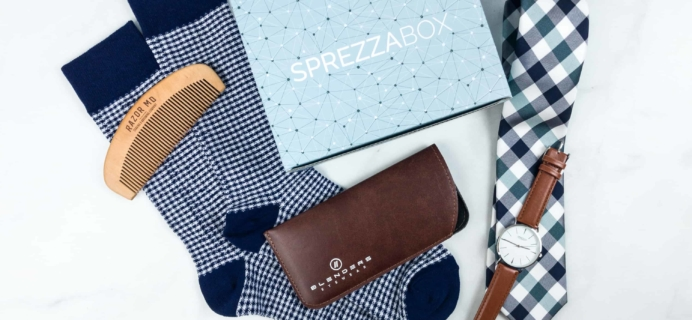 SprezzaBox May 2018 Subscription Box Review + Coupon