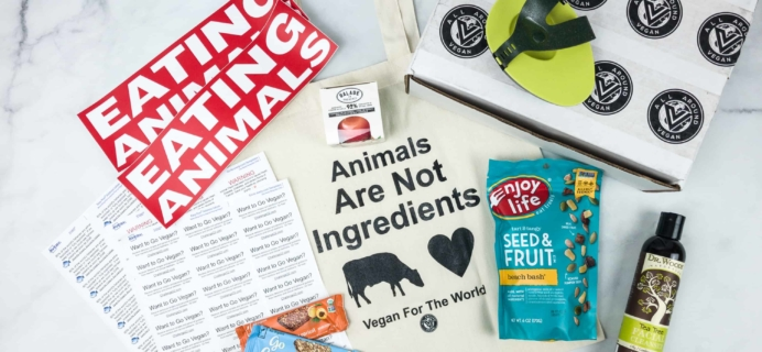 All Around Vegan Box May 2018 Subscription Box Review + Coupon