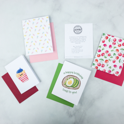 Pennie Post Stationery May 2018 Subscription Review + Coupons