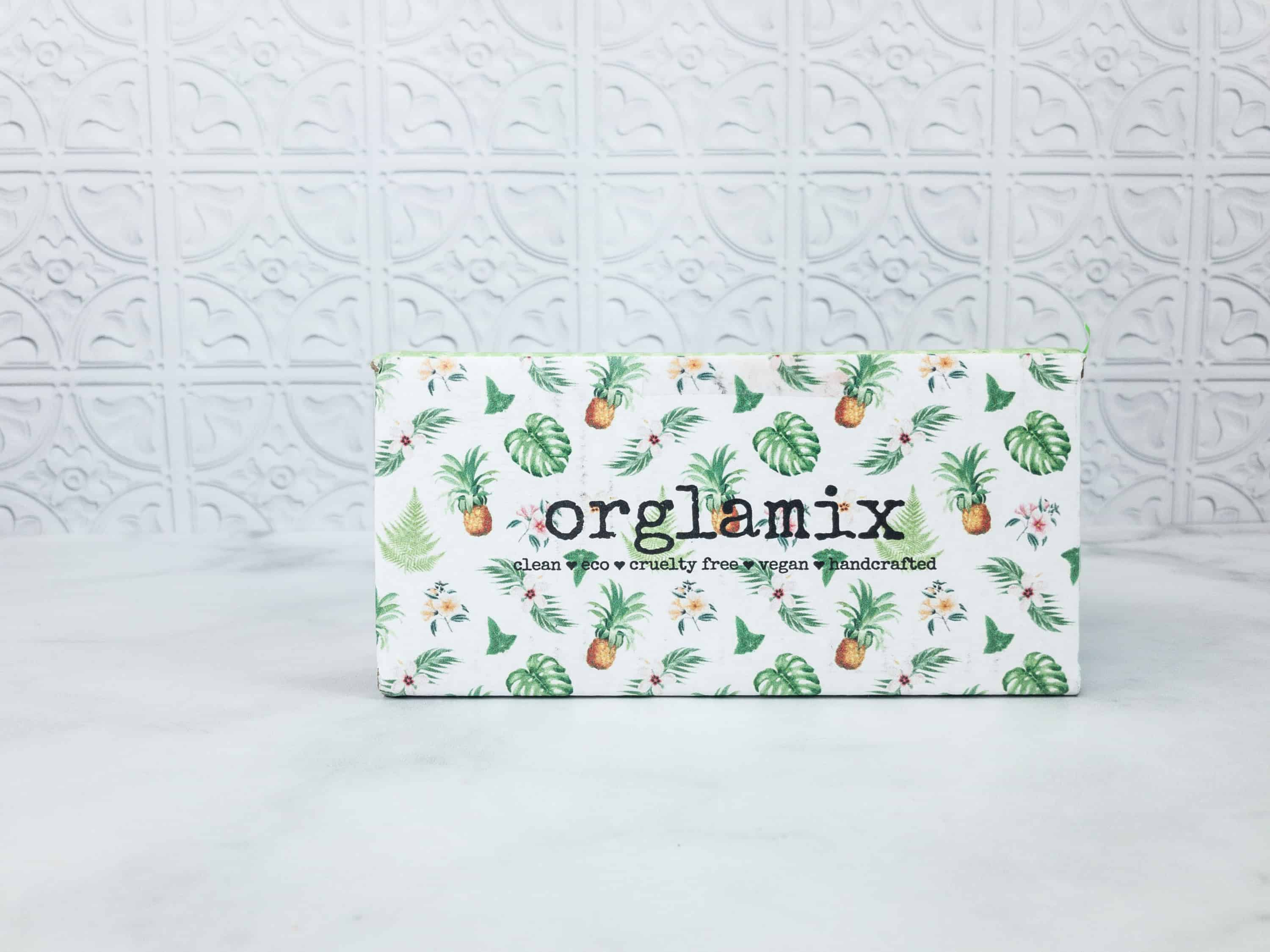 Orglamix April 2018 Subscription Box Review Coupon Hello