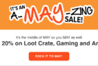 LAST DAY for this Loot Crate Coupon: 20% Off Subscriptions!