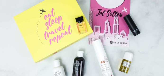 May 2018 GLOSSYBOX Subscription Box Review
