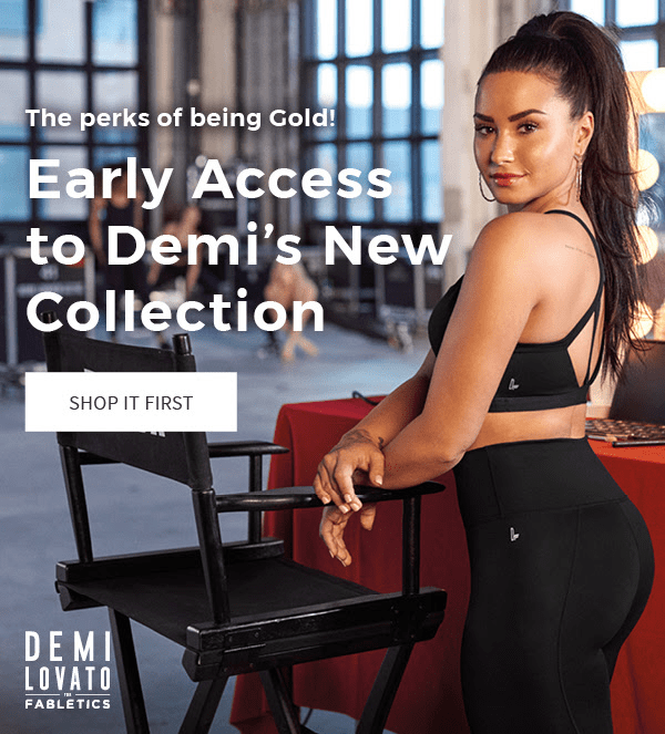 7f89d1c5ac New Demi Lovato Fabletics Capsule Collection Available Now + First ...