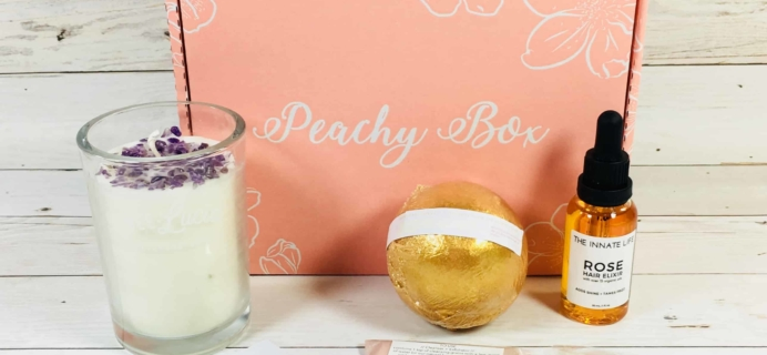 Peachy Box Subscription Box Review + Coupon – May 2018