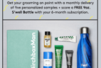 Birchbox Man Coupon: Free S'well Bottle with 6-Month Subscription!
