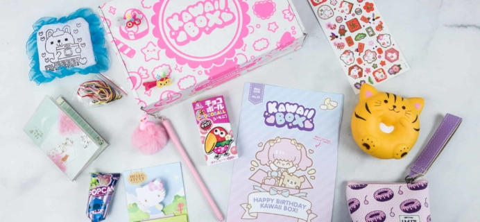 Kawaii Box May 2018 Subscription Box Review